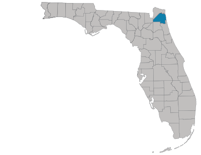 Duval County Map