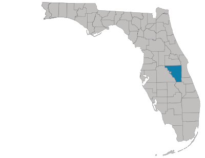 Osceola County Map