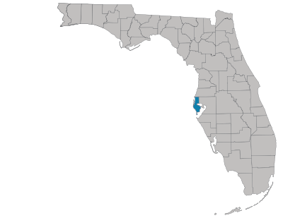 Pinellas County Map