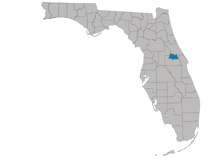 Seminole County Map