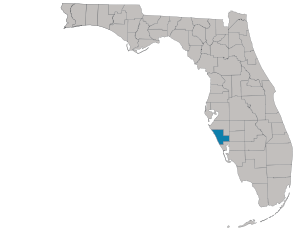 Sarasota County map
